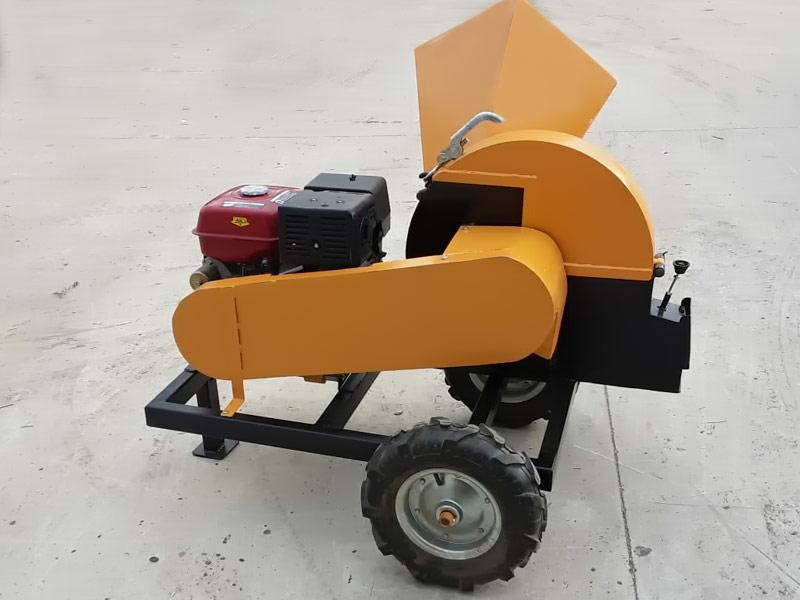 Bds Makina Muz Ağacı Öğütme Parçalama Talaş Makinası