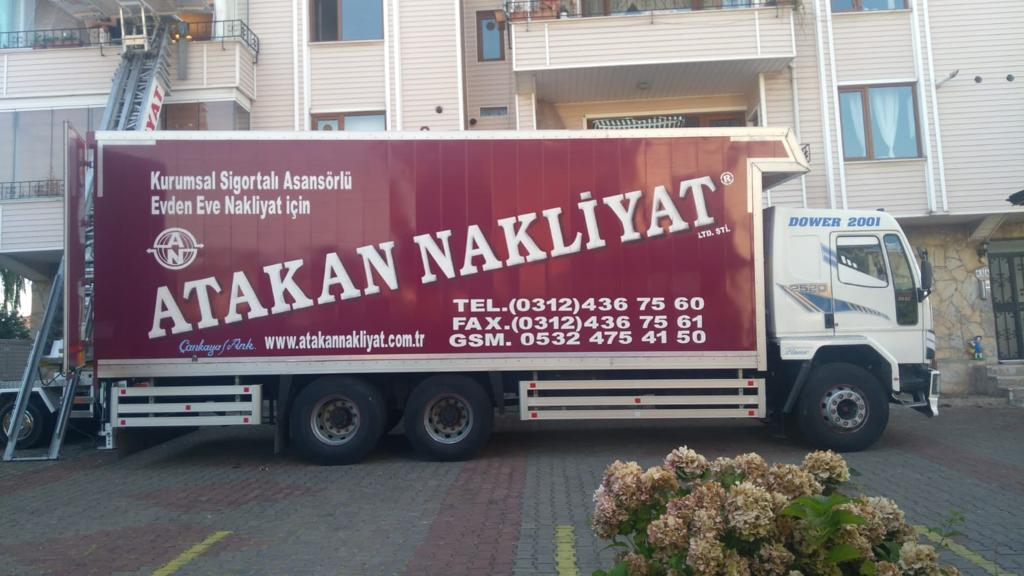 Ankara Asansörlü Nakliyat