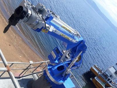 Aselkon Marine Crane  Ship Crane Port Crane Gemi Vinci