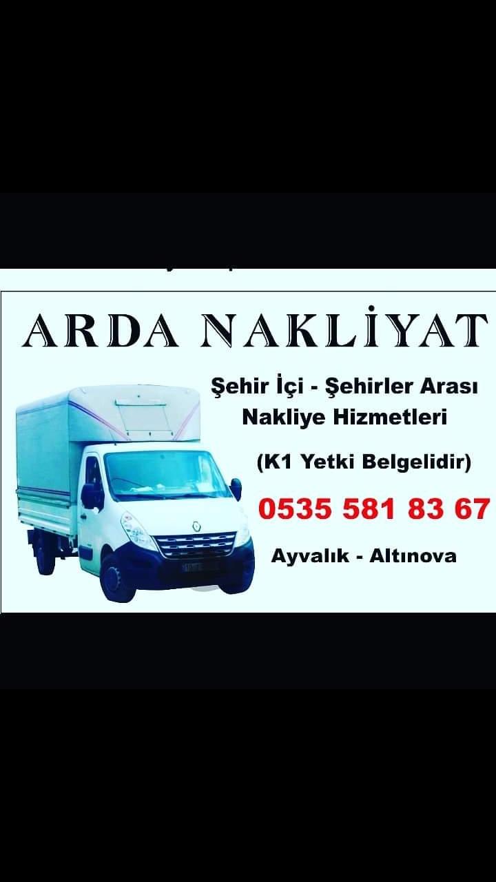 Ayvalik Altinova Arda Nakliyat Nakliye