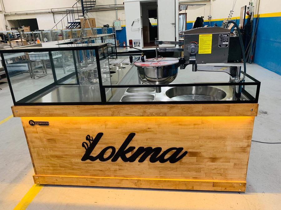 Armodo Lokma Tatlı Makinası Imalatı