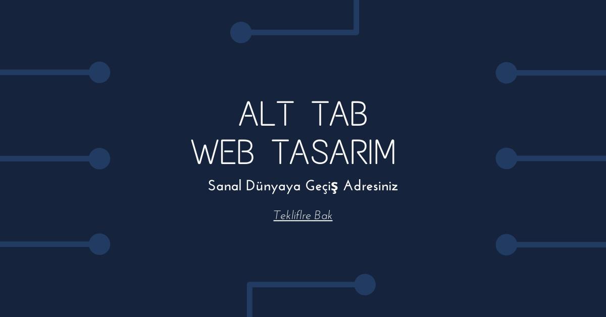 Alt Tab Web Tasarım