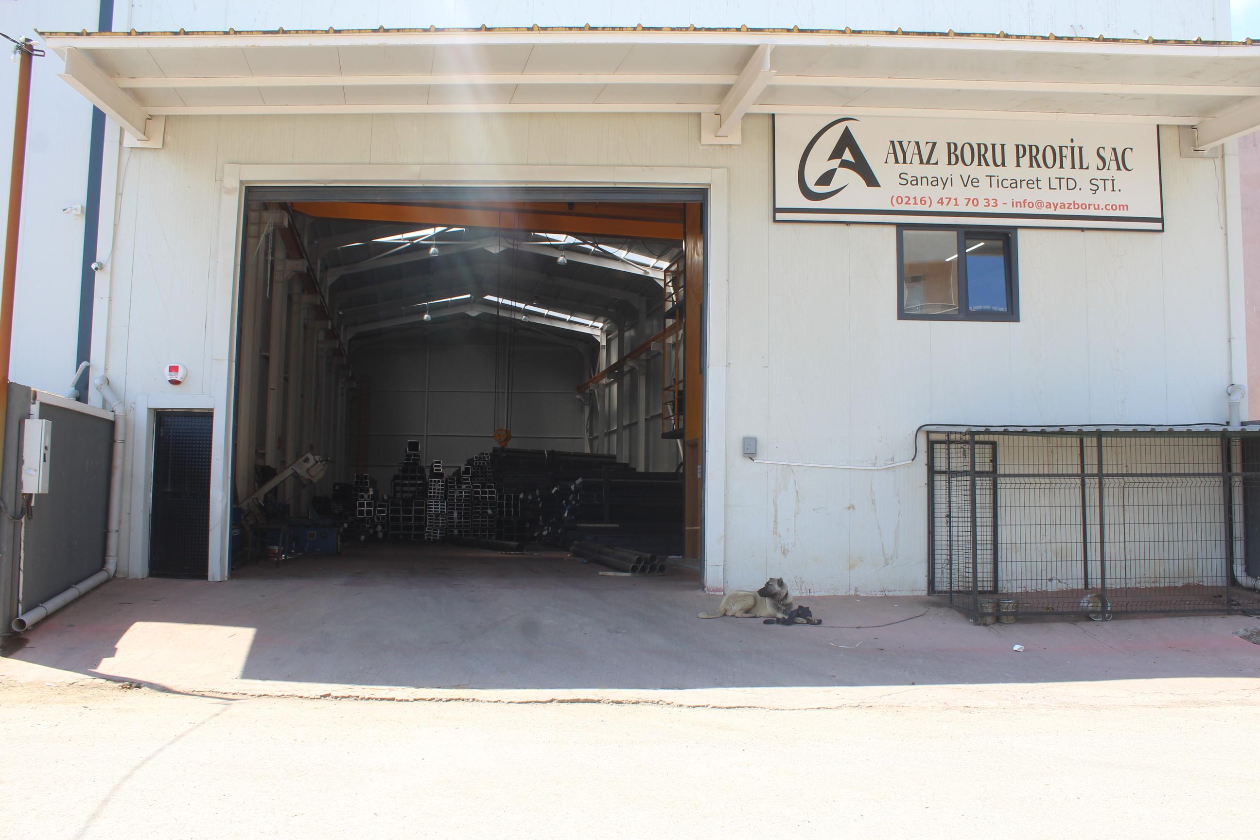 Ayaz Boru Profil Sac San Tic Ltd Şti