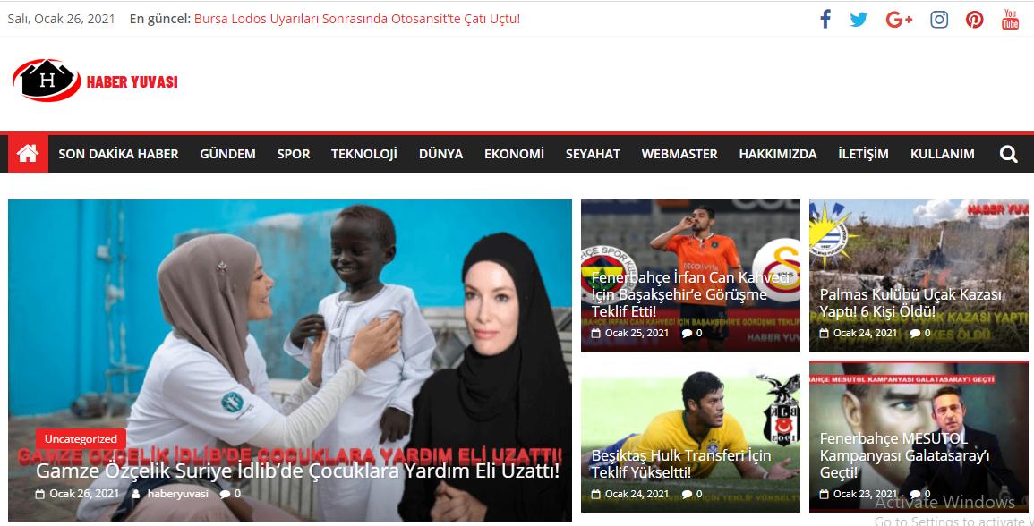 Haber Yuvası Güncel Haberlerin Adresi!