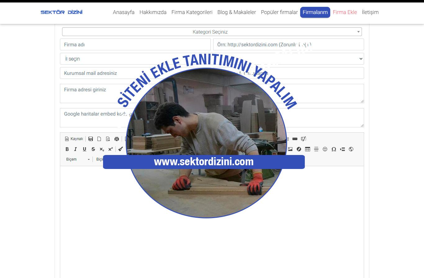 Siteni Ekle Firma Rehberimizde Tanıtımını Yapalım